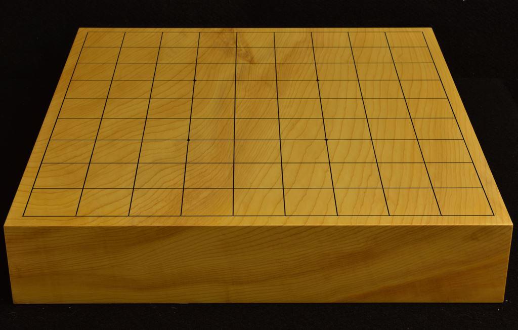 本榧卓上将棋盤 t6231