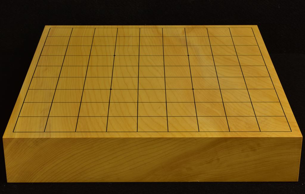 本榧卓上将棋盤 t6232