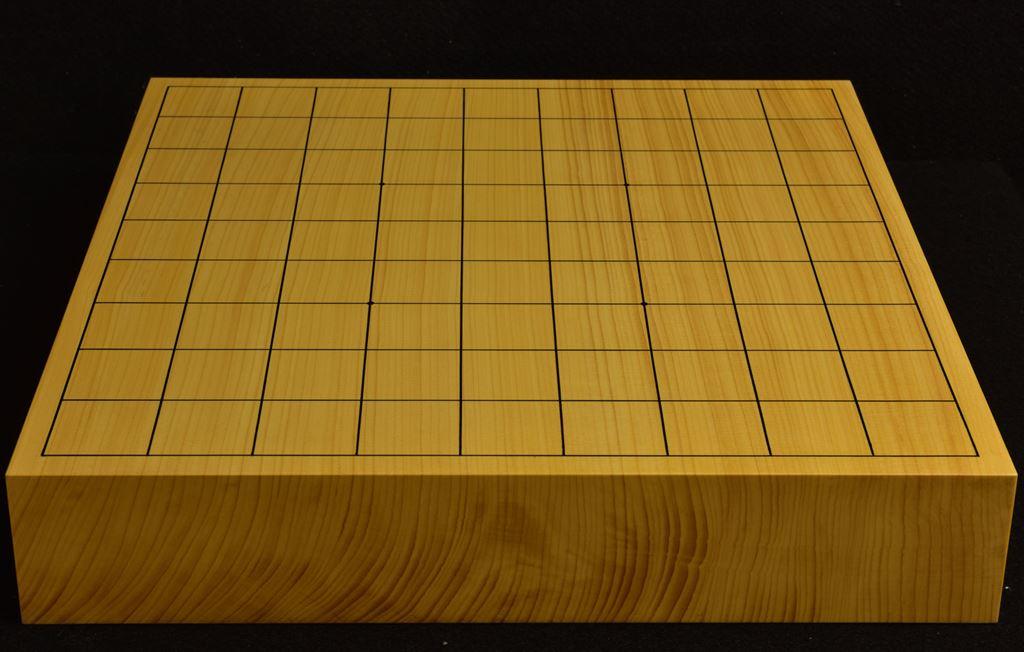 本榧卓上将棋盤 t6233