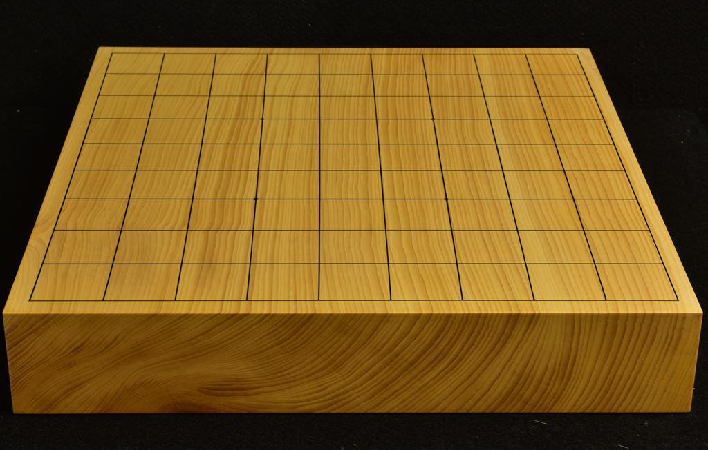 本榧卓上将棋盤 t6234