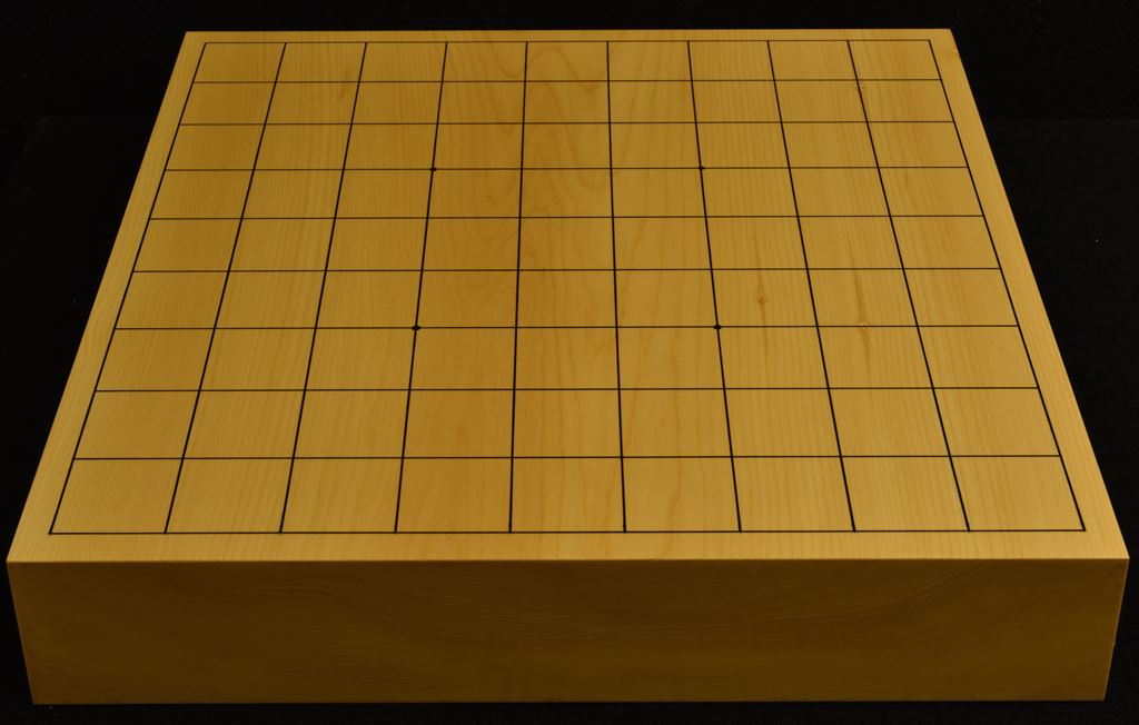本榧卓上将棋盤 t6236