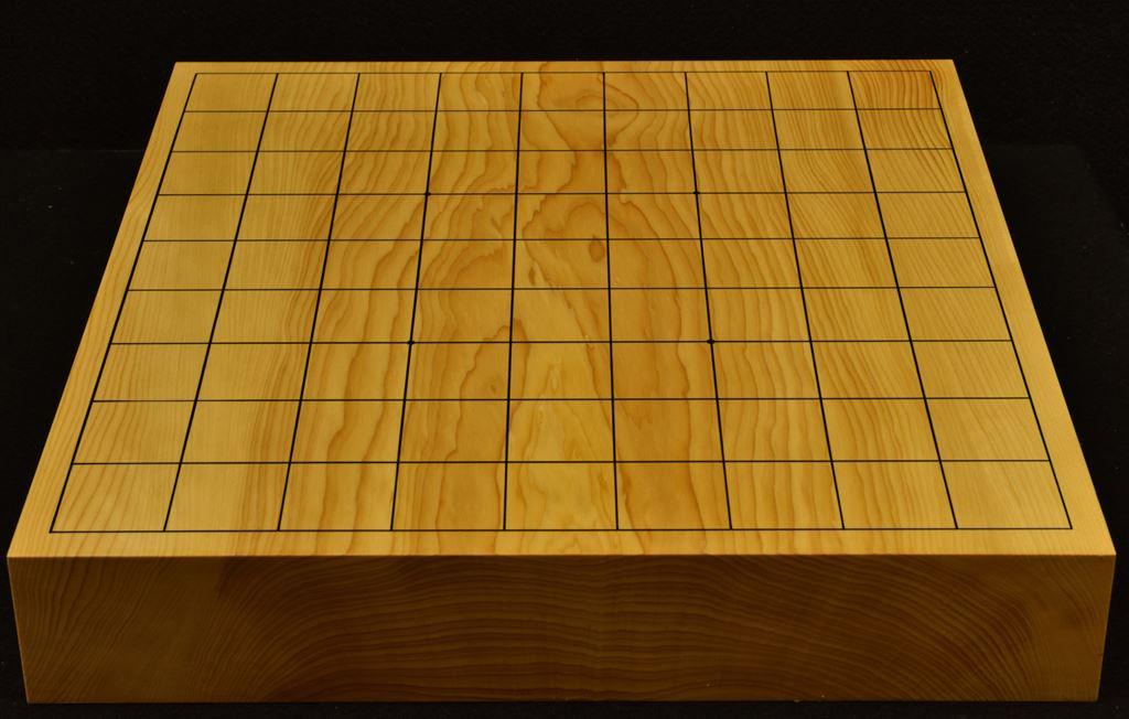 本榧卓上将棋盤 t6243