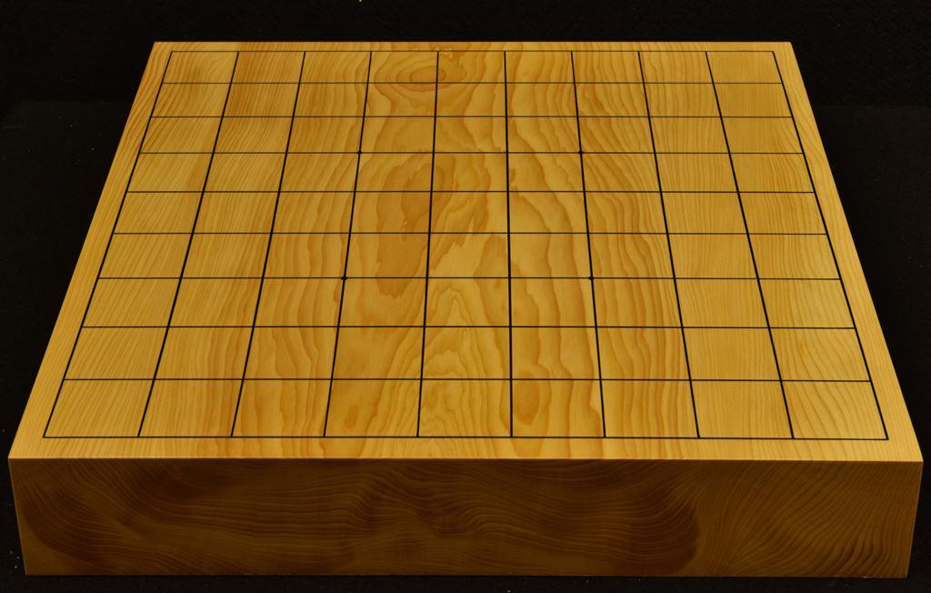 本榧卓上将棋盤 t6244