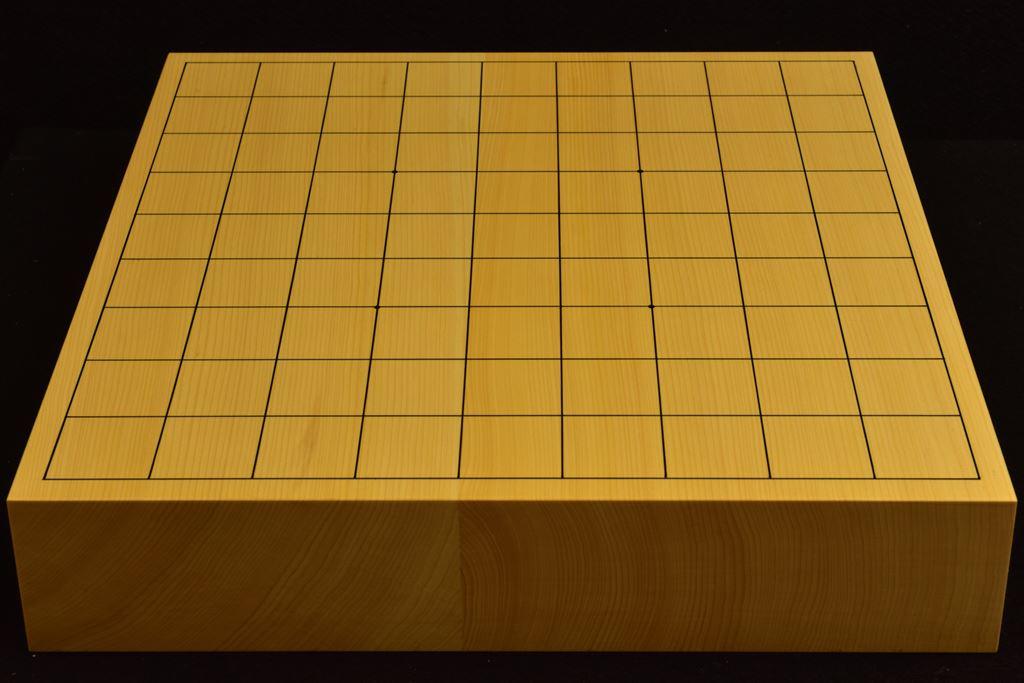 本榧卓上将棋盤 t6251