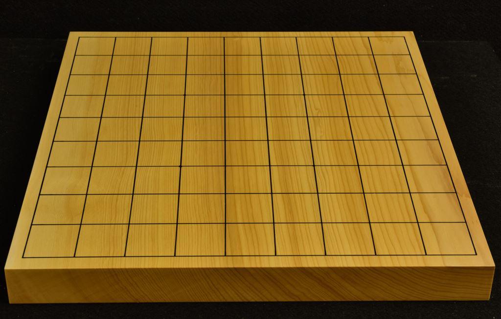 本榧卓上将棋盤 t6266