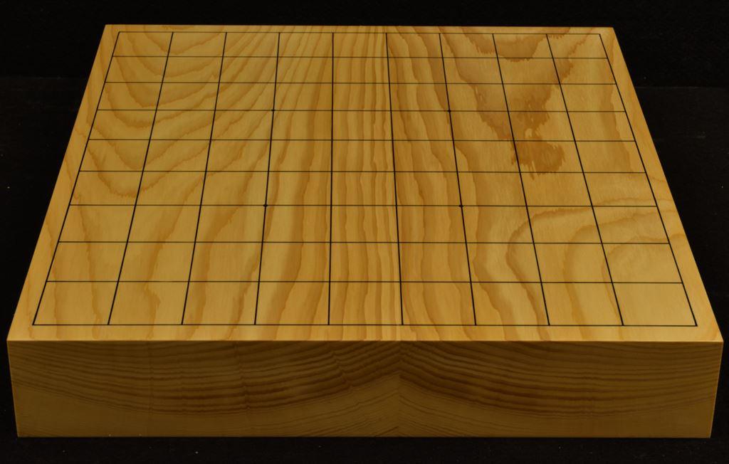 本榧卓上将棋盤 t6272