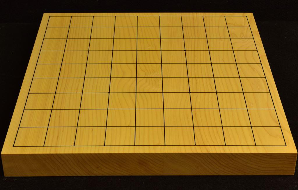 本榧卓上将棋盤 t6286