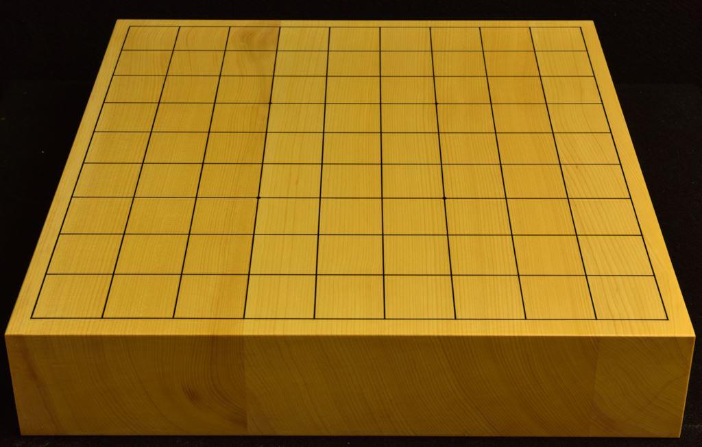本榧卓上将棋盤 t6287