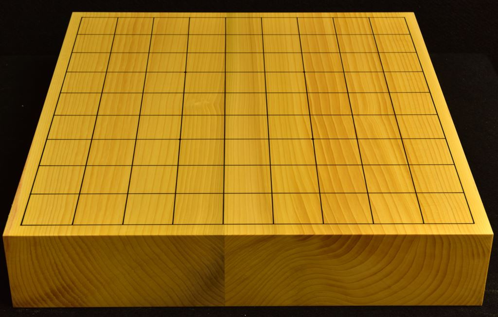 本榧卓上将棋盤 t6288