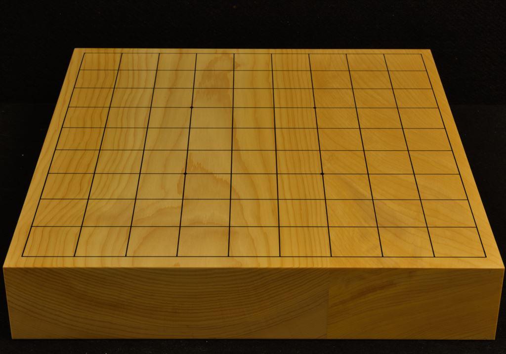 本榧卓上将棋盤 t6289