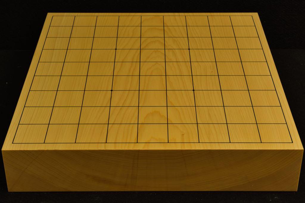 本榧卓上将棋盤 t6293