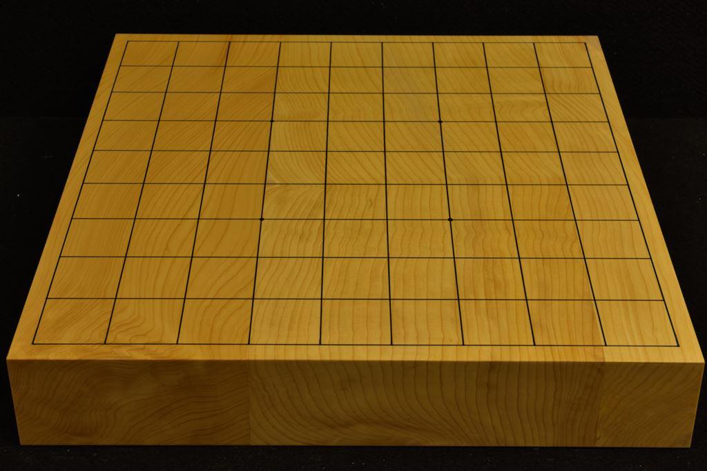 本榧卓上将棋盤 t6294