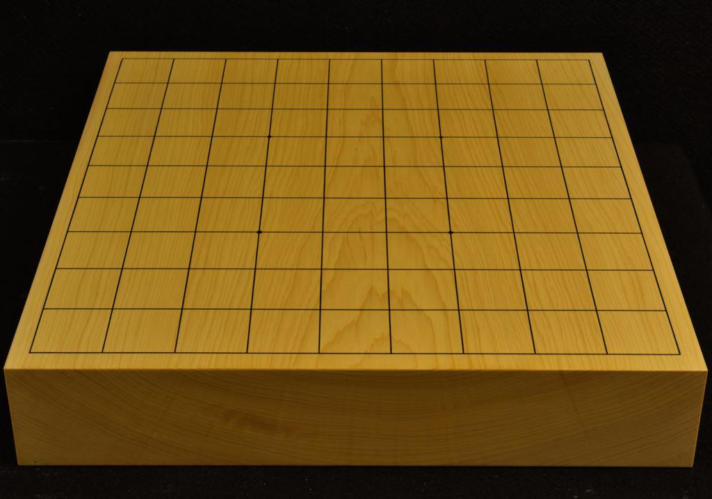本榧卓上将棋盤 t6300