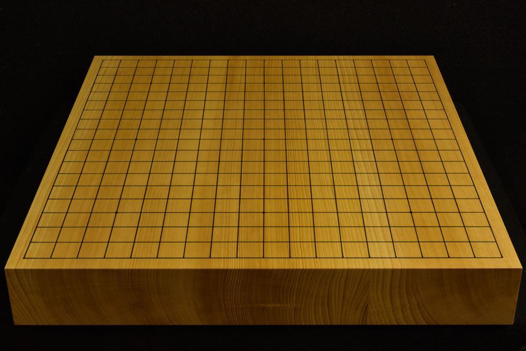 碁盤 本榧(日本・日向産)卓上 t6318
