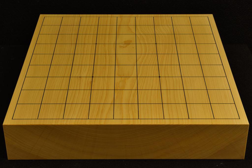 卓上将棋盤 本榧(日本、日向産)一枚板  t6326
