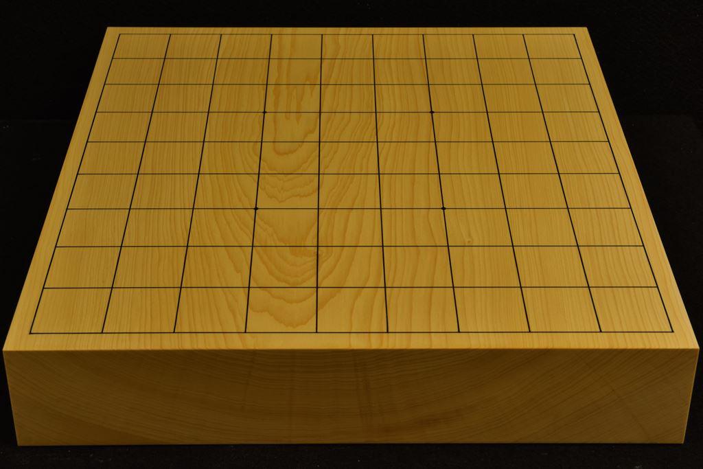 卓上将棋盤 本榧(日本、日向産)一枚板 t6327