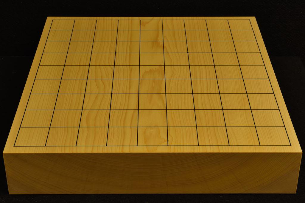 卓上将棋盤 本榧(日本、日向産)一枚板 t6329
