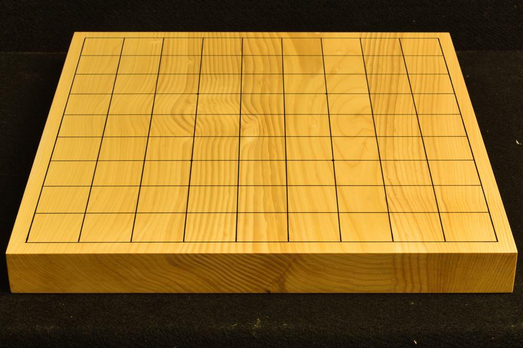 卓上将棋盤 本榧(日本産) t6342