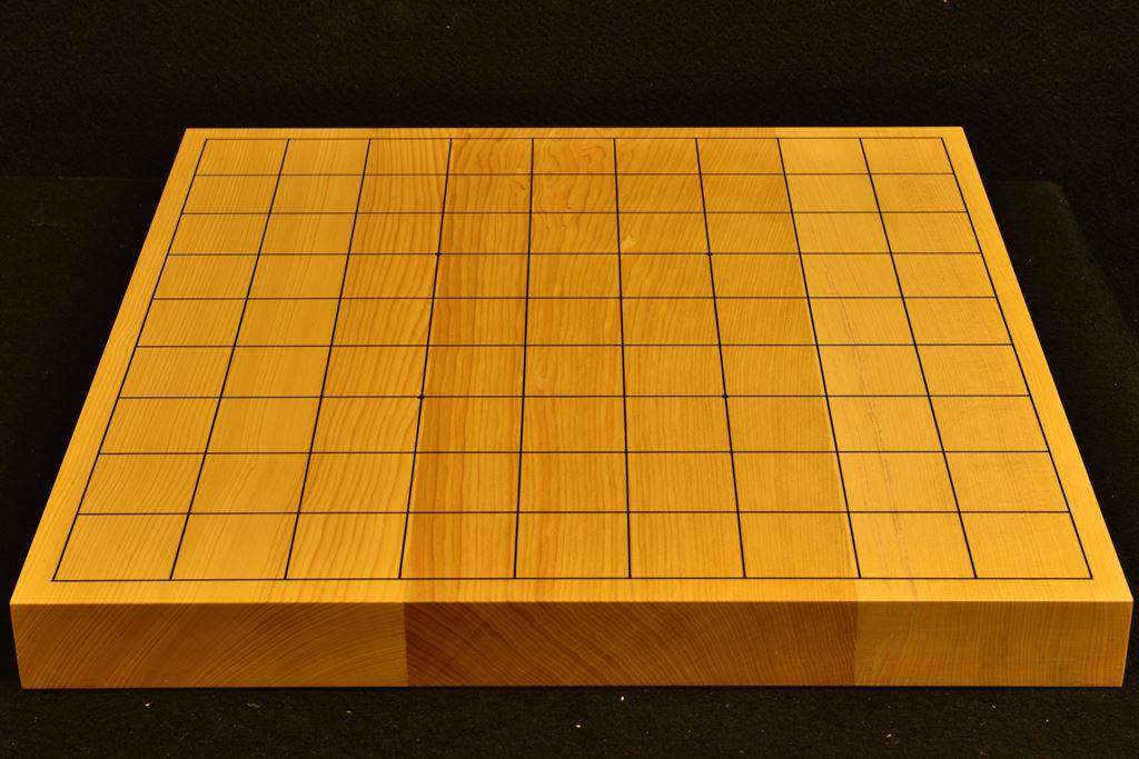 卓上将棋盤 本榧 t6353