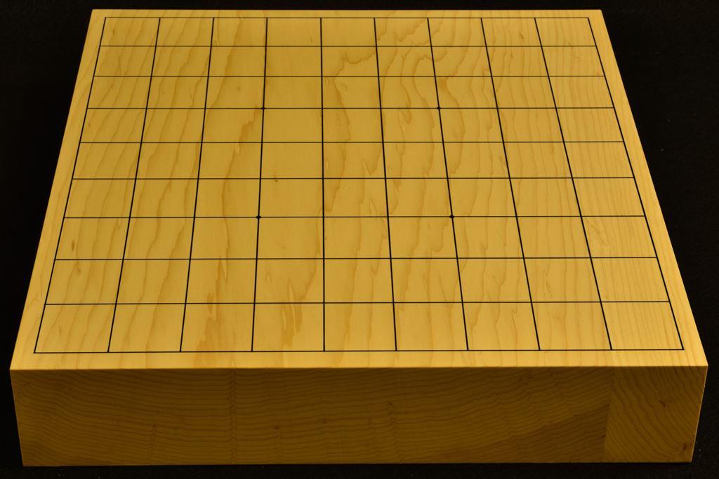 卓上将棋盤 本榧(日本産) t6357