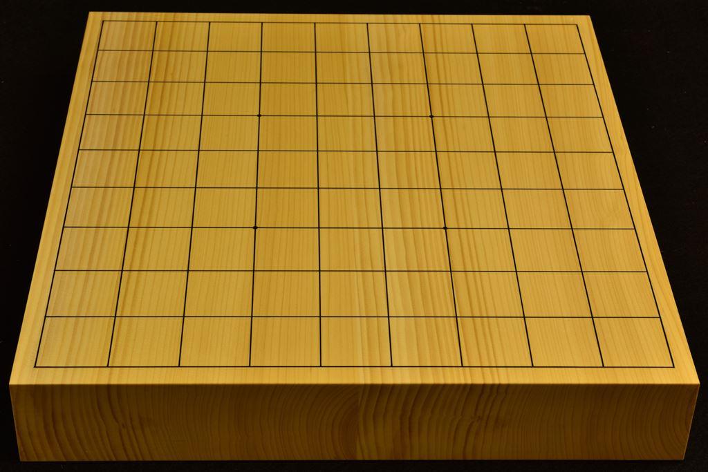 卓上将棋盤 本榧(日本産) t6358