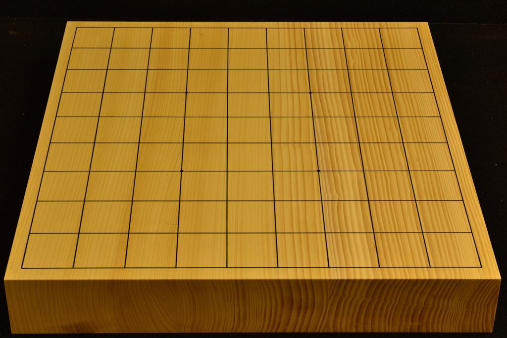 卓上将棋盤 本榧(日本産) t6361