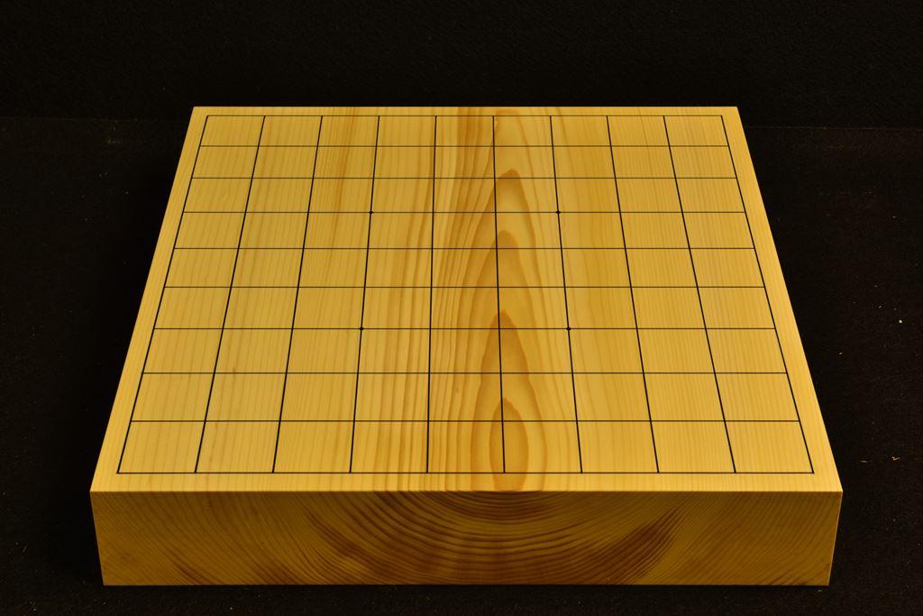 卓上将棋盤 本榧(日本産) t6362