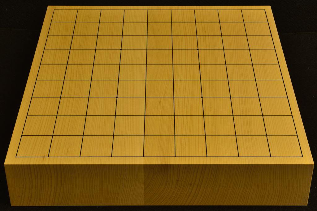 卓上将棋盤 本榧(日本産) t6369