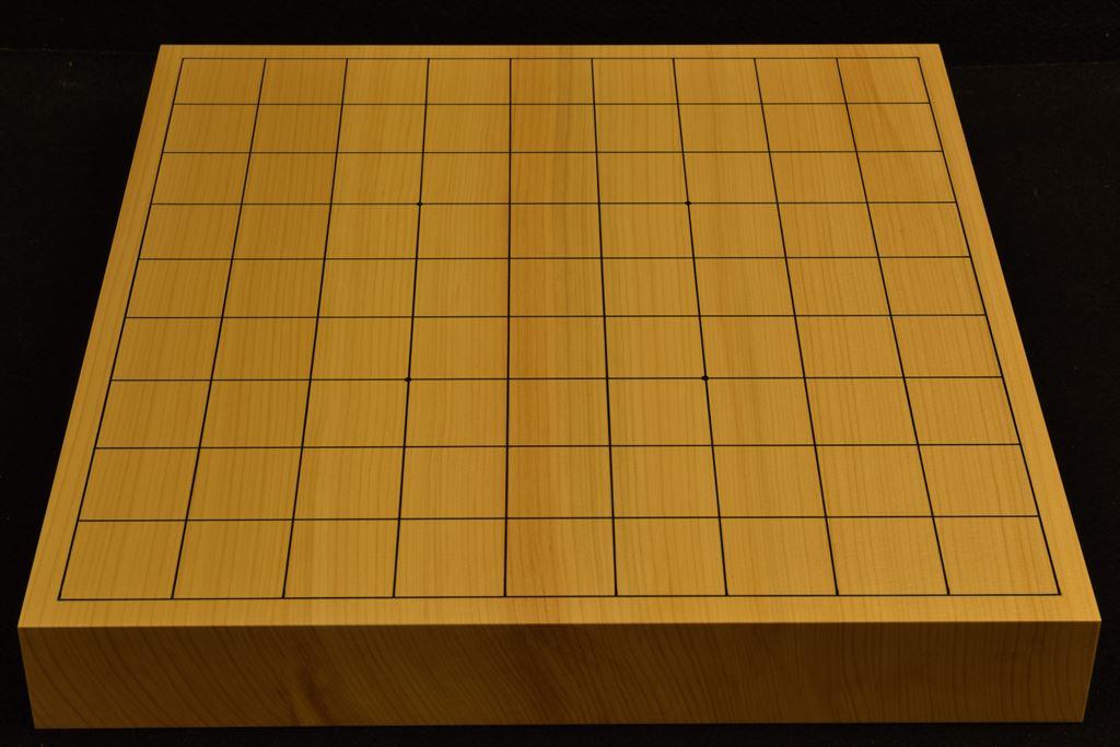 卓上将棋盤 本榧(日本産) t6371