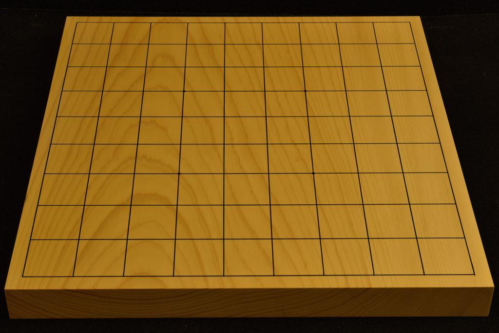卓上将棋盤 本榧(日本産) t6373