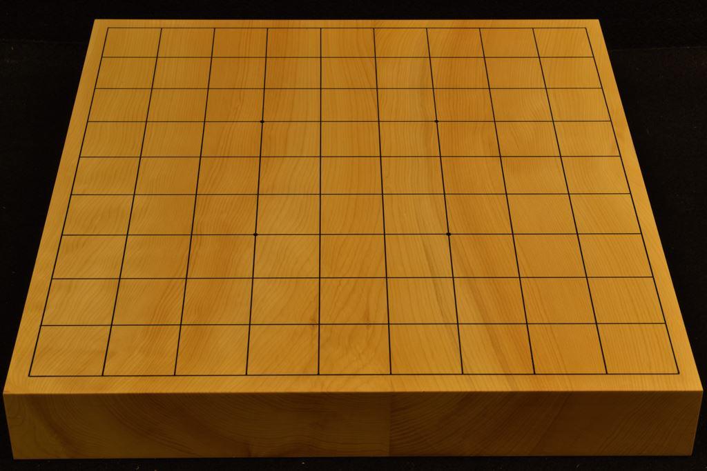 卓上将棋盤 本榧(日本産) t6375