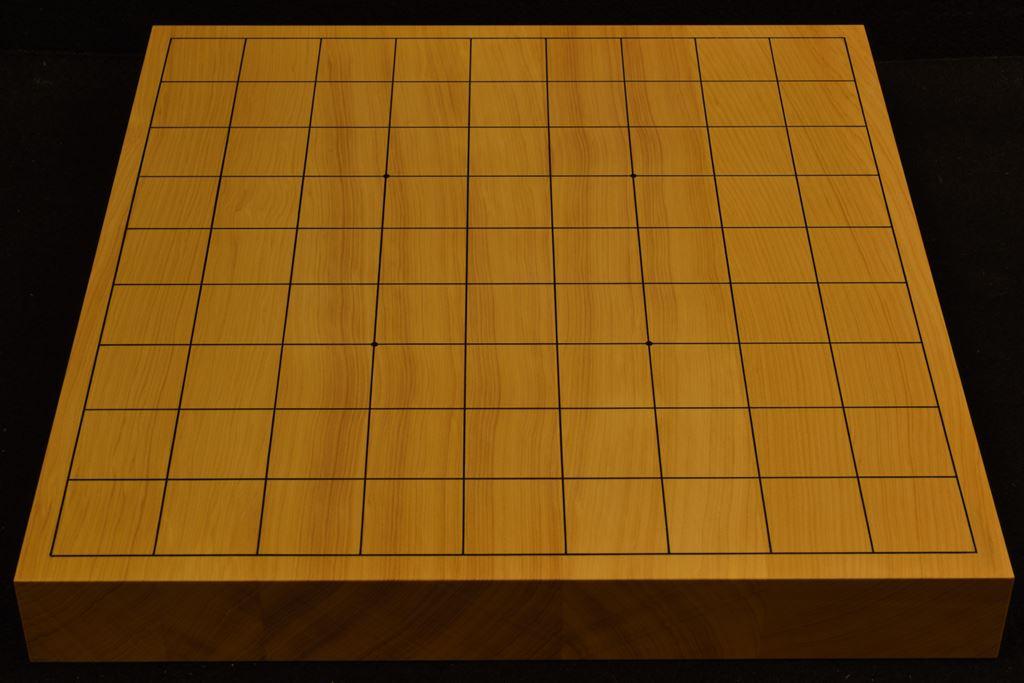 卓上将棋盤 本榧(中国産) t6376