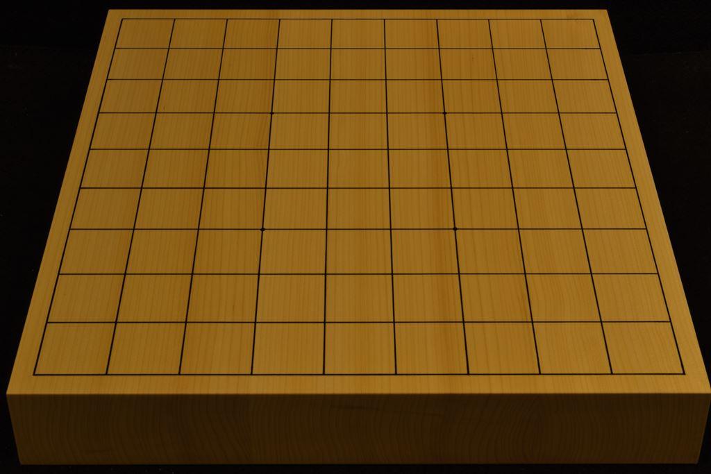 卓上将棋盤 本榧(日本産) t6378