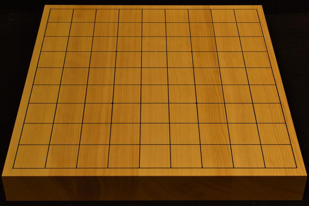 卓上将棋盤 本榧(中国産) t6379