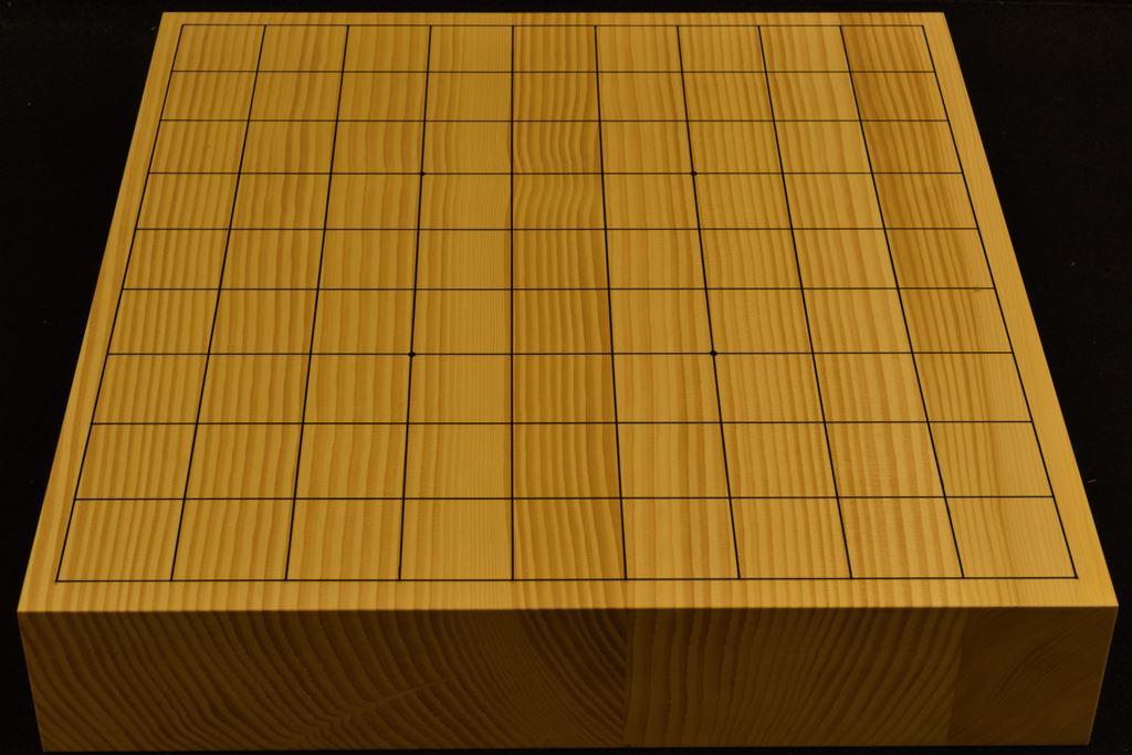 卓上将棋盤 本榧(日本産) t6380