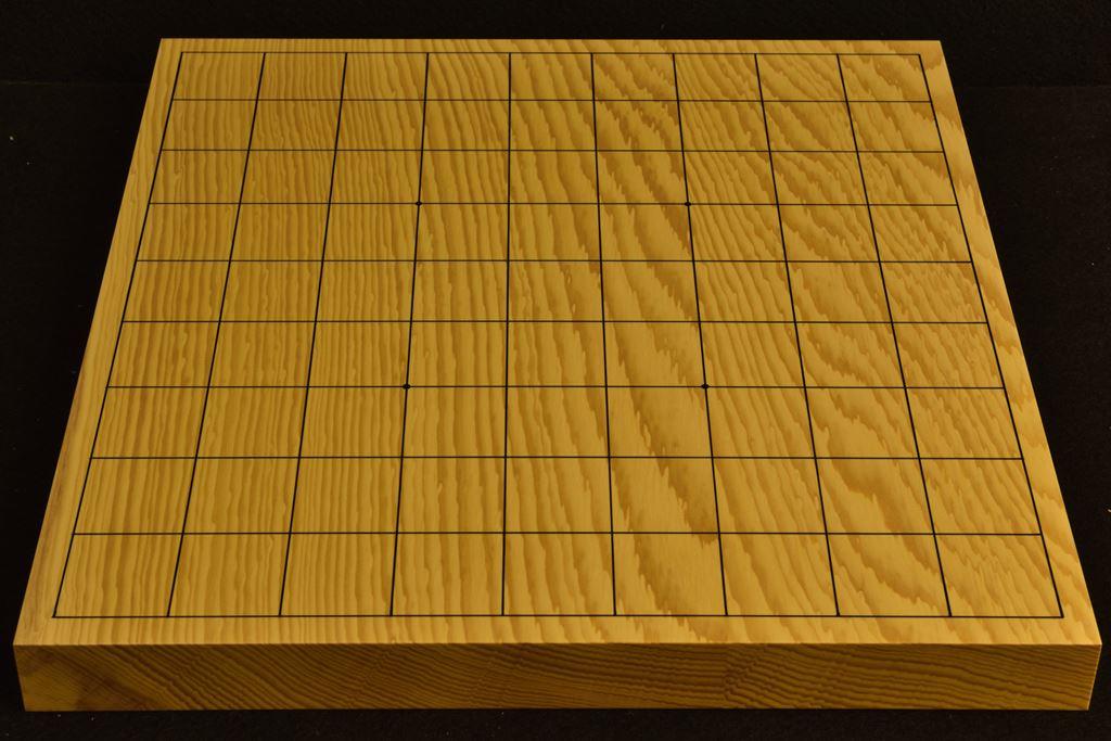 卓上将棋盤 本榧(日本産) t6384