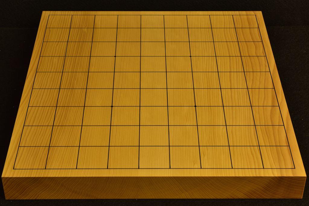 卓上将棋盤 本榧(日本産) t6385