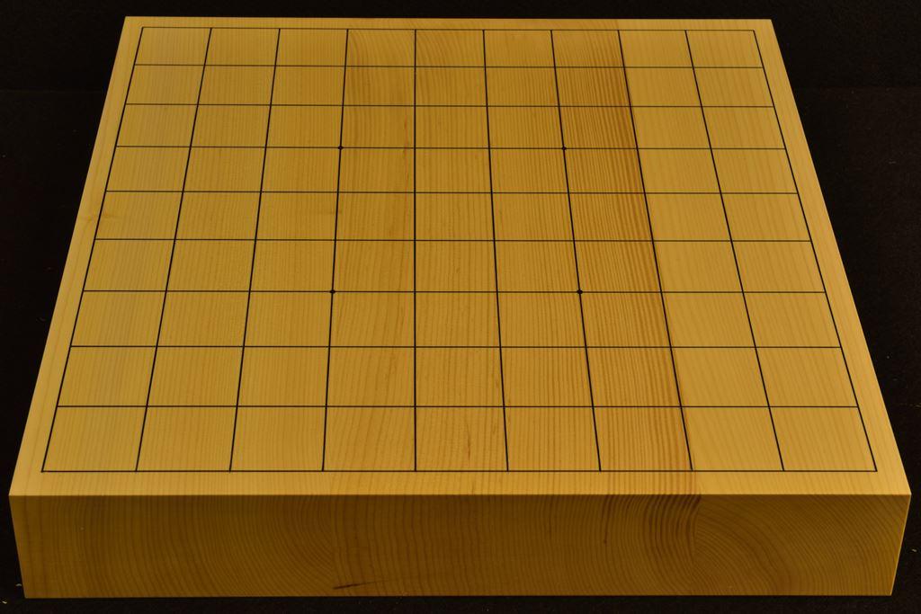 卓上将棋盤 本榧(日本産) t6386