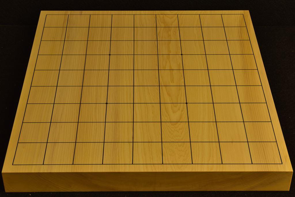 卓上将棋盤 本榧(日本産) t6388