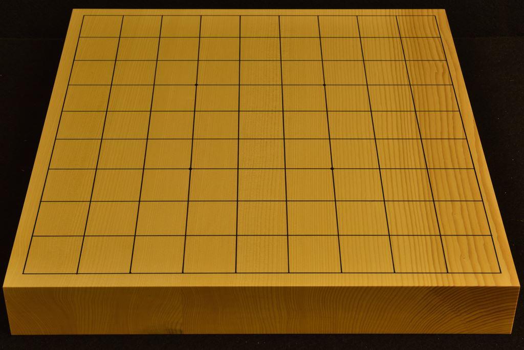 卓上将棋盤 本榧(日本産) t6389
