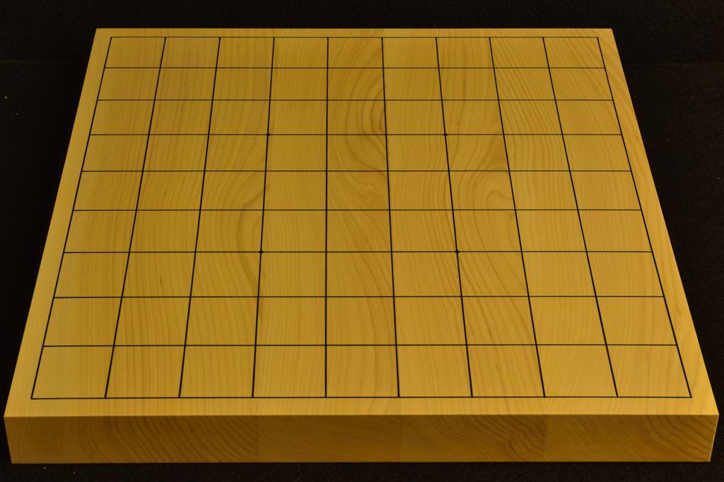 卓上将棋盤 本榧(日本産) t6390