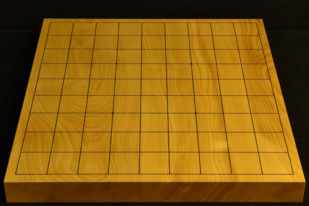 卓上将棋盤 本榧(日本産) t6391