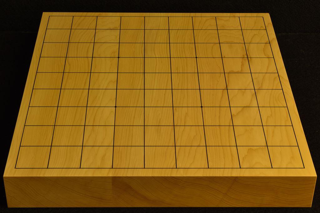 卓上将棋盤 本榧(日本産) t6393