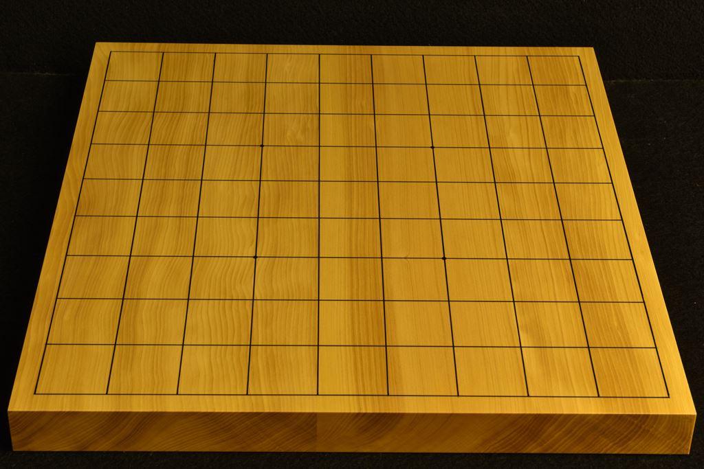 卓上将棋盤 本榧 t6394