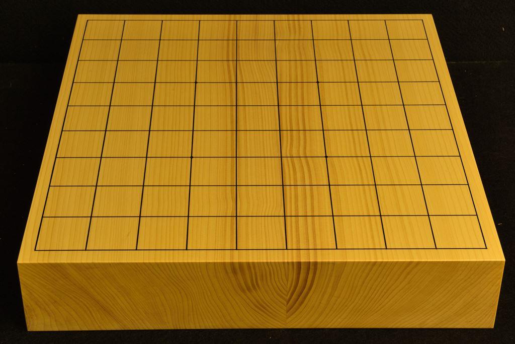 卓上将棋盤 本榧(日本産) t6409