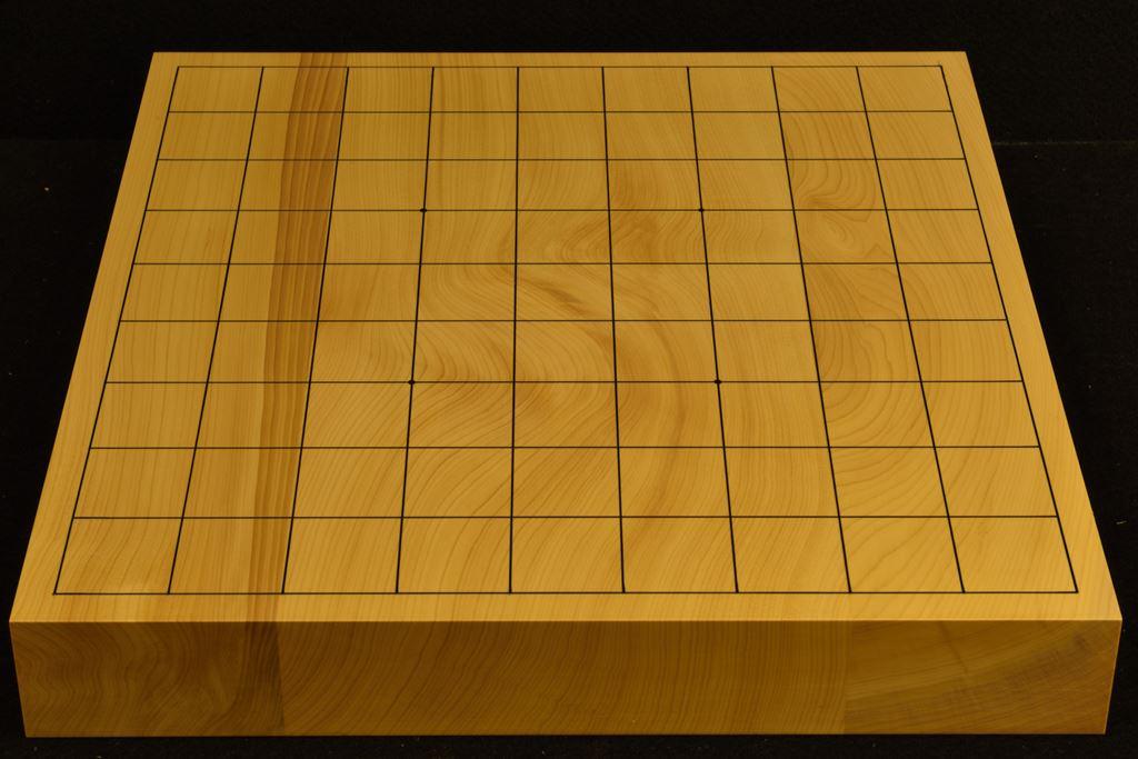 卓上将棋盤 本榧(日本産) t6413