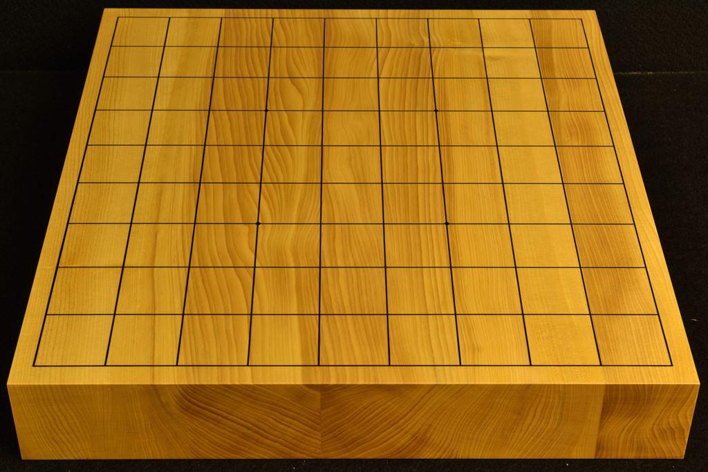 卓上将棋盤 本榧 t6416