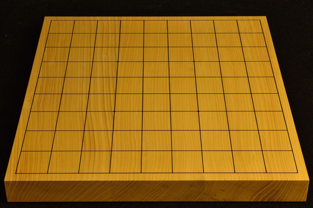 卓上将棋盤 本榧(日本産) t6422