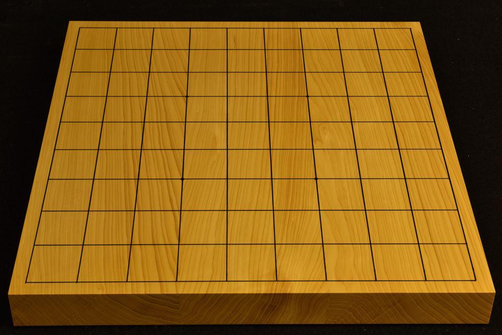 卓上将棋盤 本榧(日本産) t6423