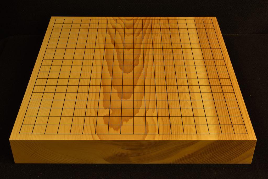 碁盤 本榧(日本・日向産)一枚板卓上 t6434